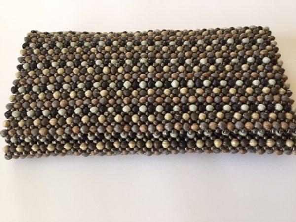 Beads clutch, multicolor mix med lenke