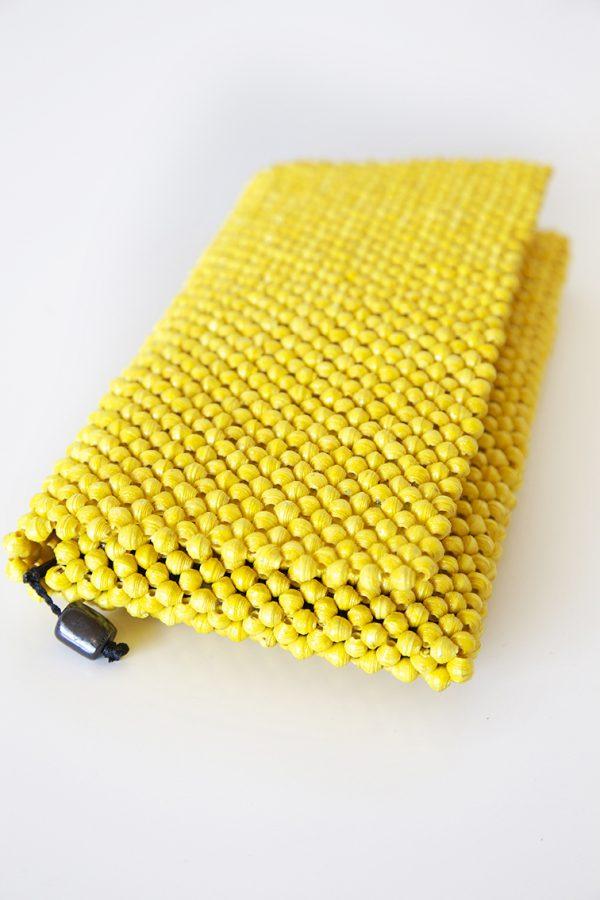 Paperbeeds Clutch /håndveske - yellow