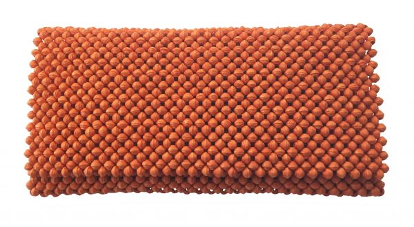 Paperbeeds Clutch /håndveske -bright orange